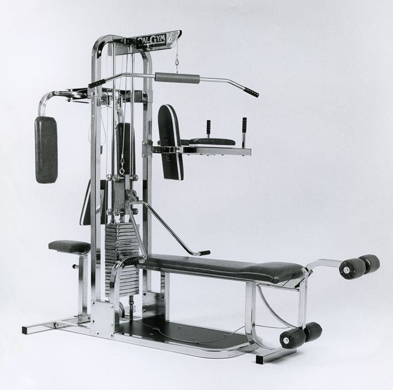 TuffStuff - CalGym Apollo 1 Home Gym in 1988