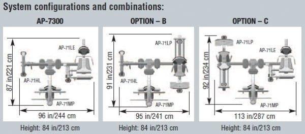 Apollo AP-7300 Configuration Options