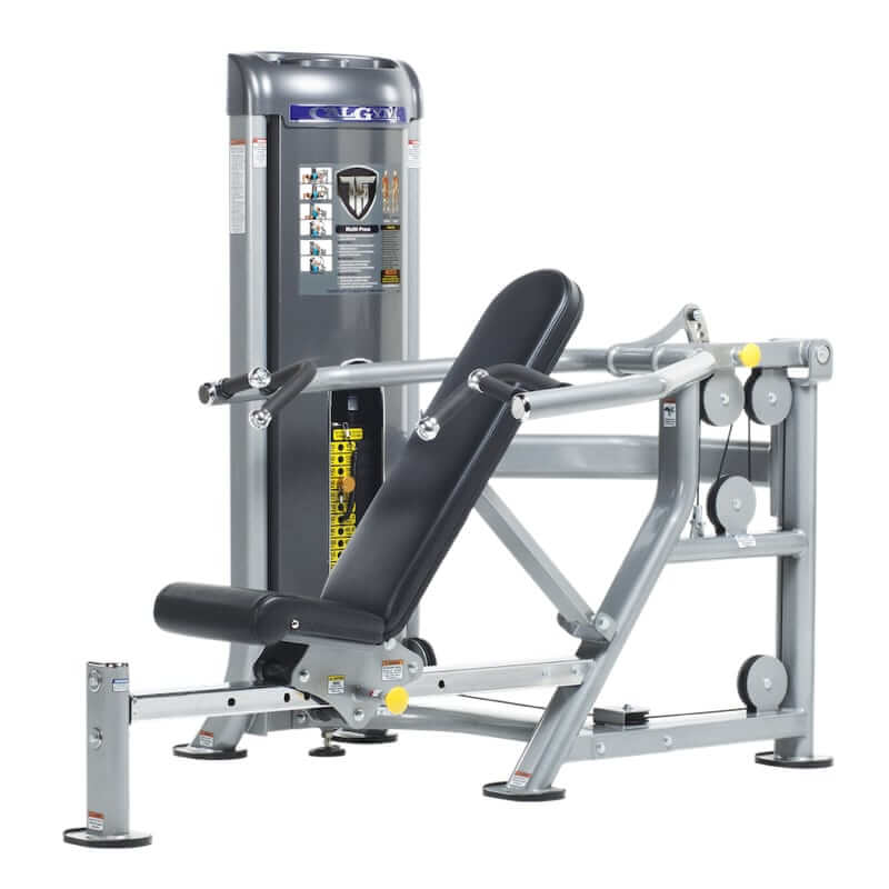 The Difference Between A Chest Press Machine A Bench: CalGym Multi Press (CG-9503)