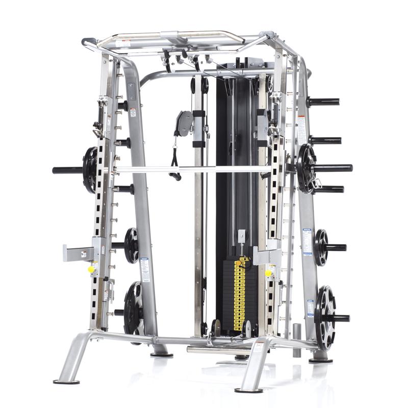Evolution Smith Machine Half Cage Ensemble Tuffstuff