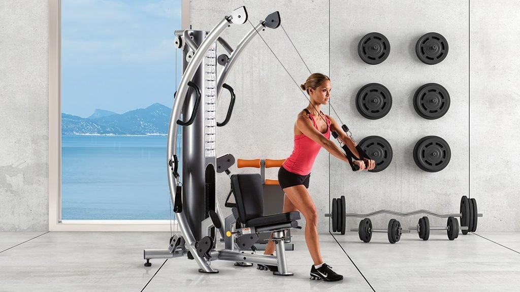 TuffStuff Fitness Six Pak Functional Trainer