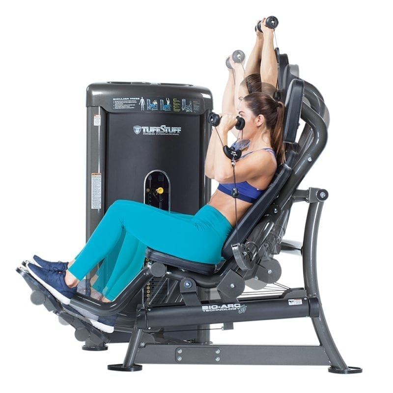 TuffStuff Bio-Arc Shoulder Press (BA-702)