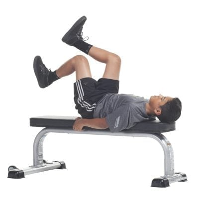 TuffStuff Youth Fitness Flat Bench (CFB-305)