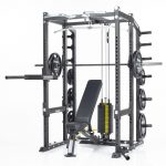 CalGym Power Rack (CG-8810) Fully Loaded
