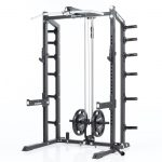 CalGym Rack High Low Pulley System - Plate Loaded (CG-8826)