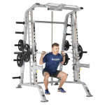 TuffStuff Fitness CSM-600 Smith Machine and Half Rack