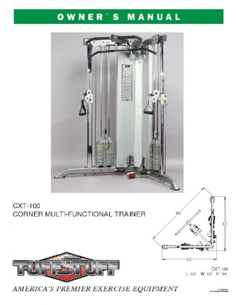 Corner Multi-Functional Trainer (CXT-100)