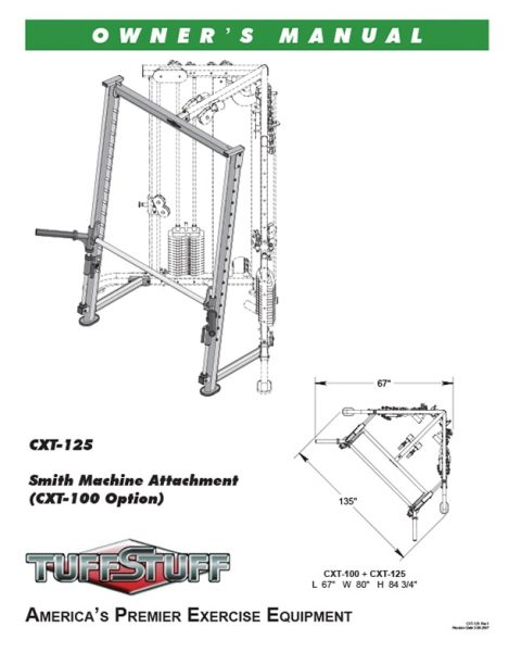 Smith Machine Attachment (CXT-125)