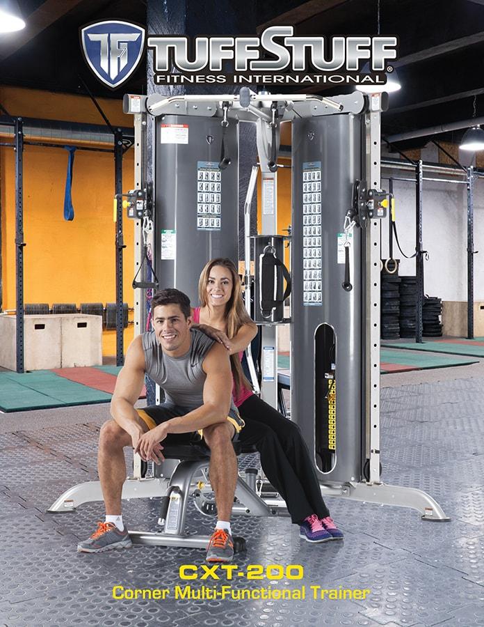 TuffStuff CXT-200 Corner Multi-Functional Trainer Brochure