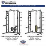 CalGym Rack Hi / Low Pulley Systems