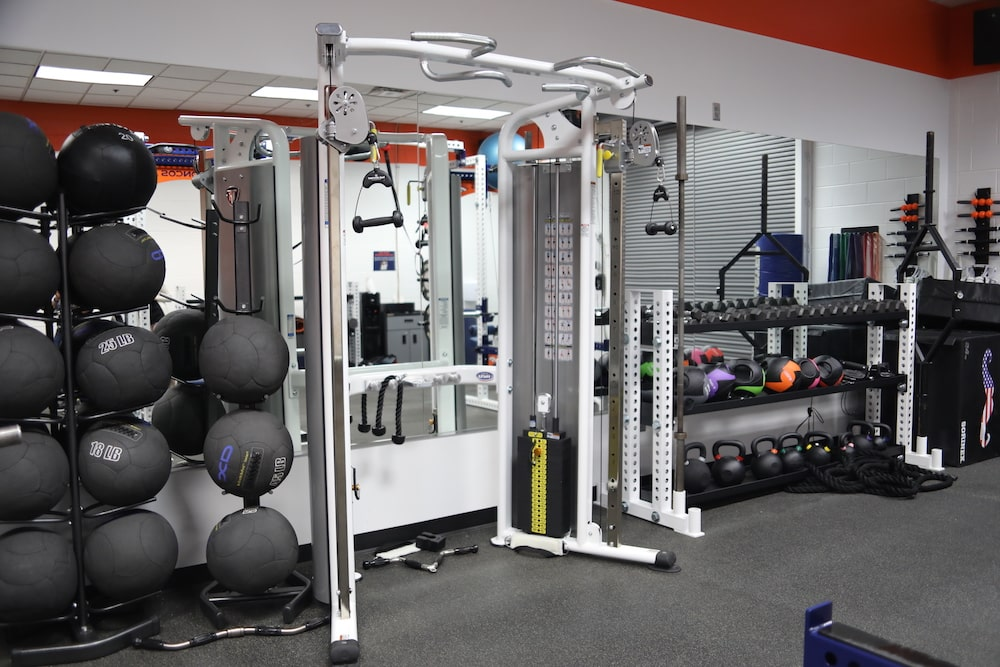 Denver Broncos Stadium Room Gym - TuffStuff Commercial Strength
