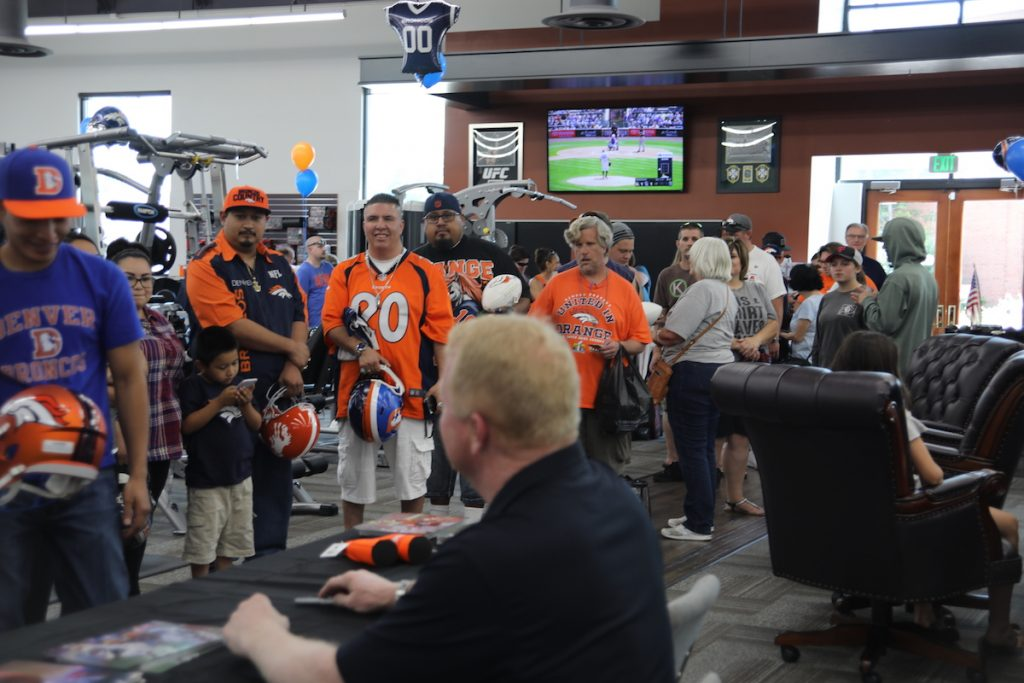 Fitness Gallery Grand Opening - Autograph Line