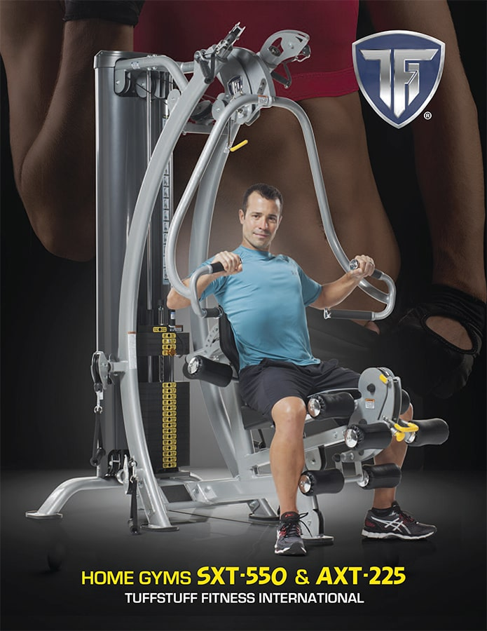 TuffStuff Fitness Home Gyms Brochure