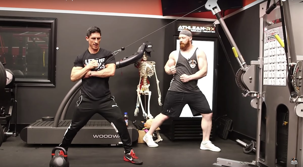 Jeff Cavaliere and WWE Sheamus - TuffStuff Functional Trainer - Celtic Warrior Workout