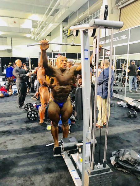 Mr Olympia 2018 - TuffStuff Lat Low Row Machine