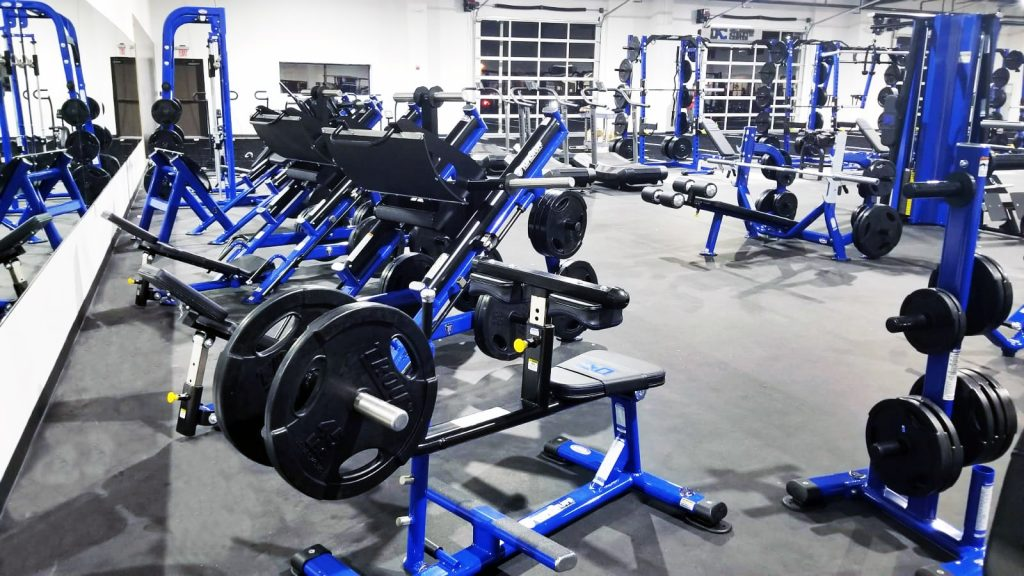 TuffStuff Proformance Plus Commercial Strength Equipment at Oklahoma Athletic Center Gym