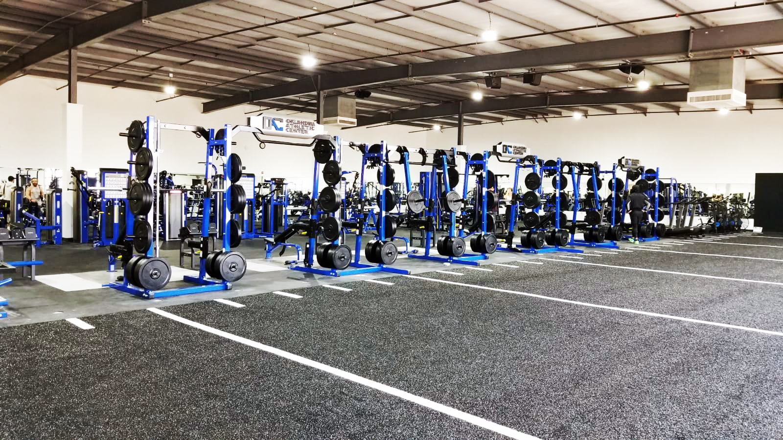 TuffStuff Half Rack at Oklahoma Athletic Center Fitness & Performance Gym