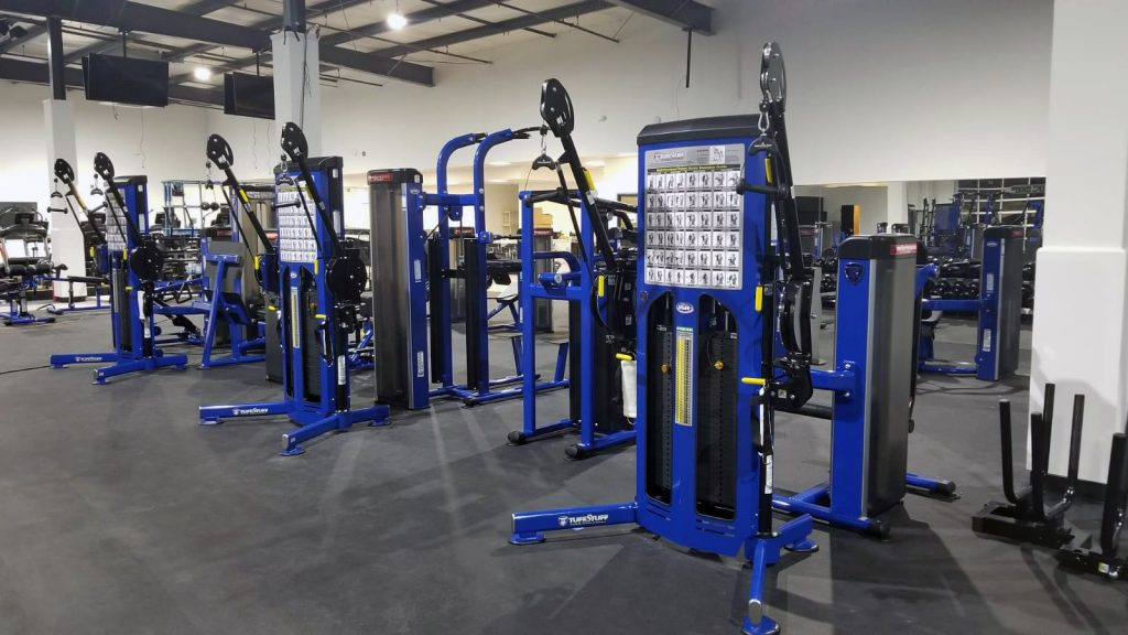 TuffStuff Proformance Plus Functional Trainers at Oklahoma Athletic Center (OAC)