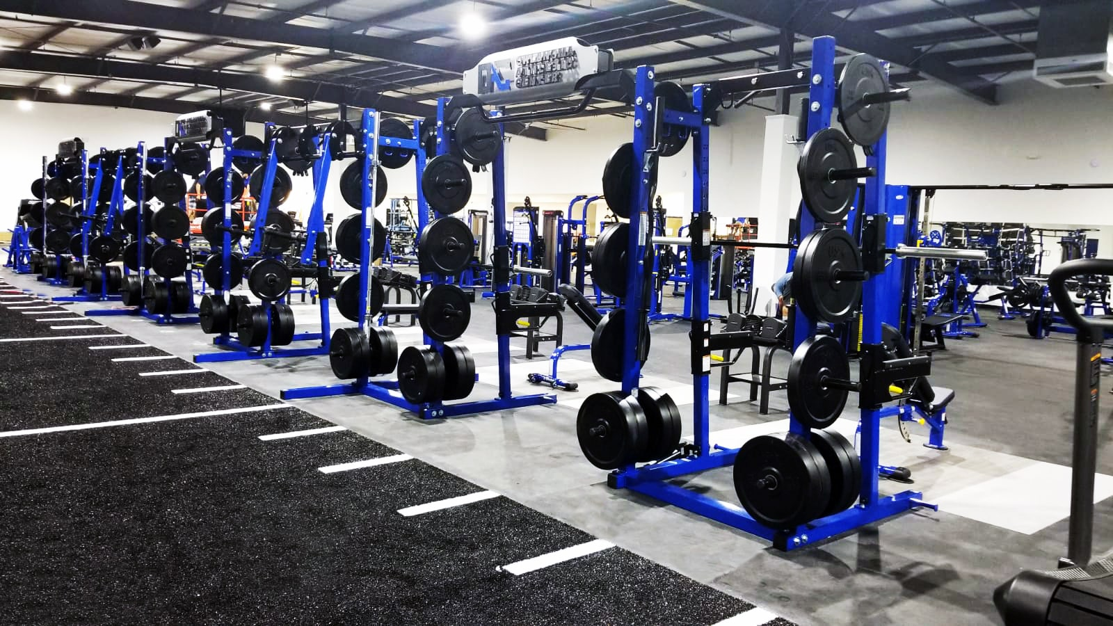 TuffStuff Commercial Strength: Oklahoma Athletic Center Fitness & Performance Gym