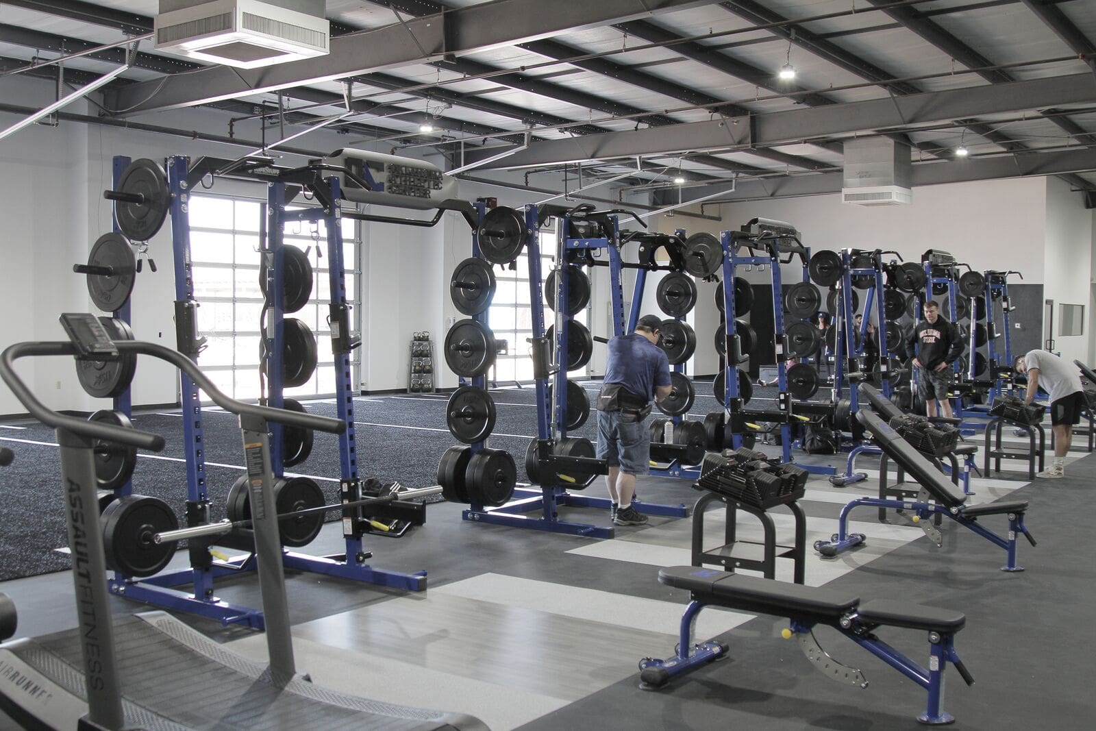 Oklahoma Athletic Center - TuffStuff Half Rack Installation