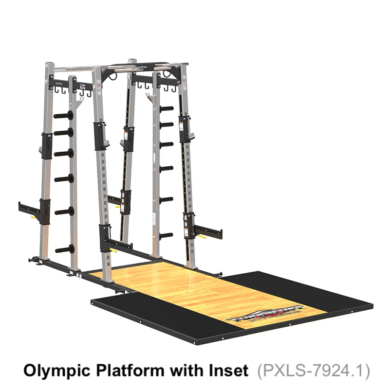 PRO-XL Dual Rack with Platform