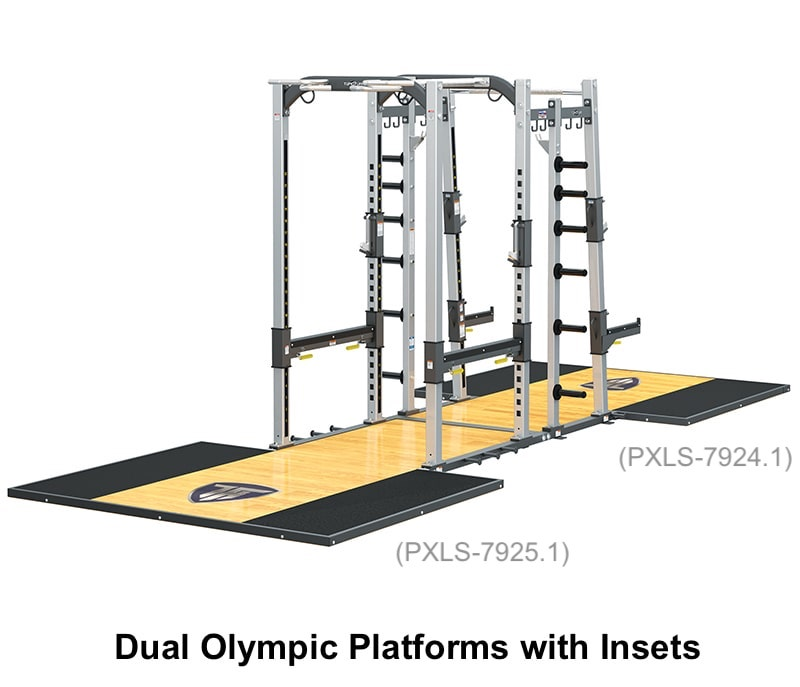 PRO-XL Super Rack with Dual Olympic Platforms