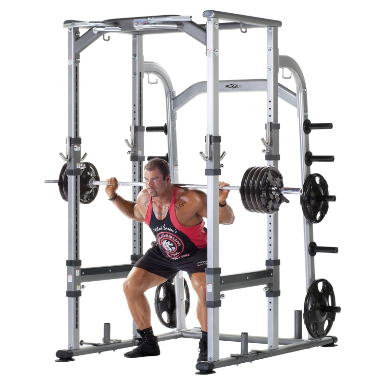 Proformance Plus Deluxe Power Rack Ppf 800 Tuffstuff Fitness