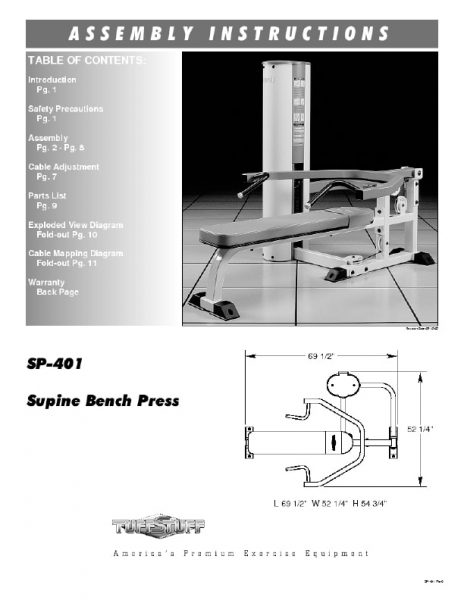 Simplex II Bench Press (SP-401)