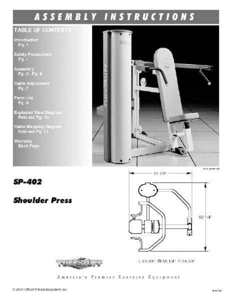 Simplex II Shoulder Press (SP-402)