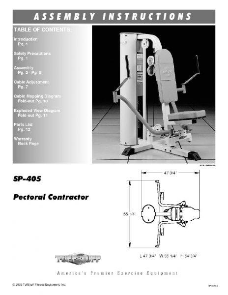 Simplex II Pectoral Contractor (SP-405)
