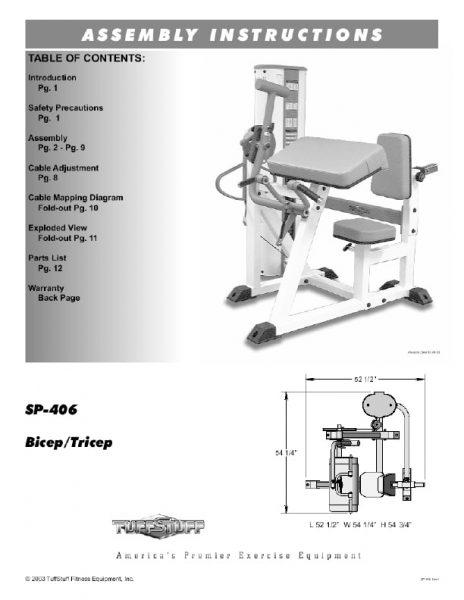 Simplex II Bicep Tricep (SP-406)