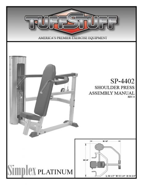 Simplex Platinum Shoulder Press (SP-4402)