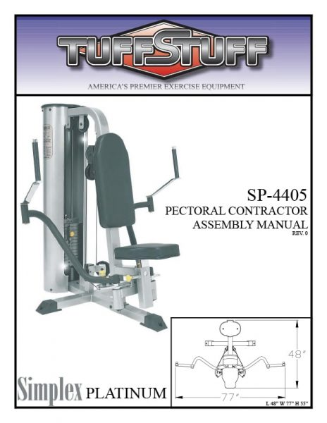 Simplex Platinum Pectoral Contractor (SP-4405)