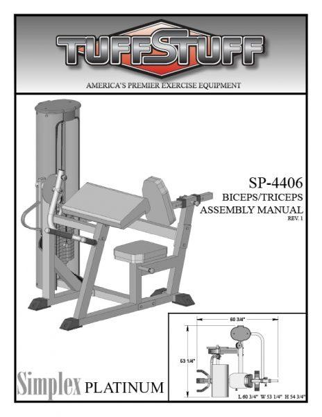 Simplex Platinum Biceps Triceps (SP-4406)