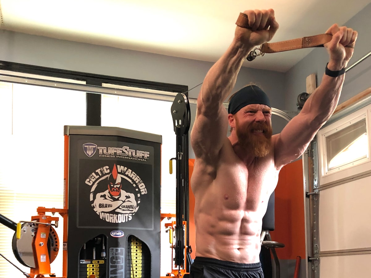 WWE Sheamus TuffStuff Functional Trainer - Brave Change Gym