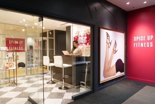 Spice Up Fitness Osaka store by Tomo Okabe
