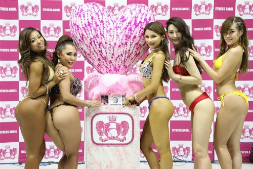 The Fitness Angel Show - Sportec, Japan