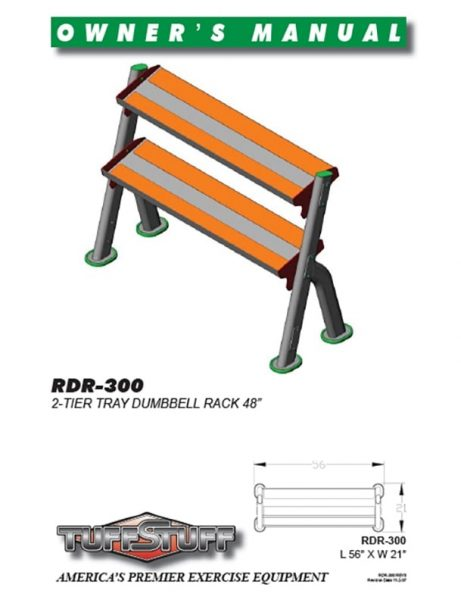 Tray Dumbbell Rack (RDR-300)