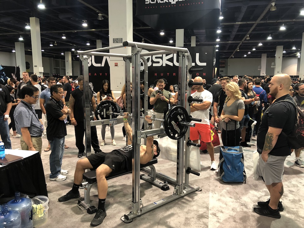 TuffStuff Booth at Mr. Olympia 2018