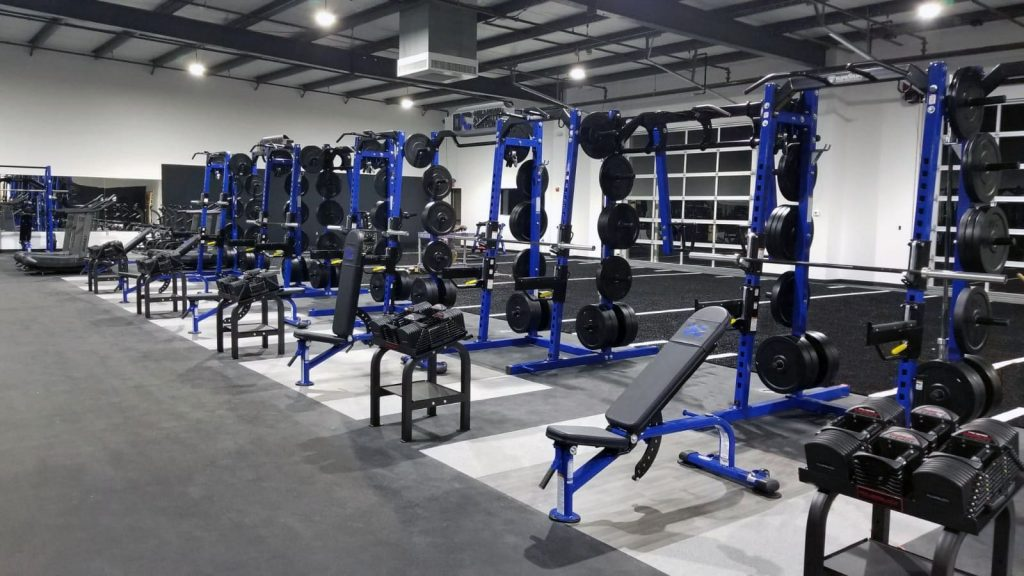 TuffStuff Fitness PRO-XL Half Rack - Oklahoma Athletic Center