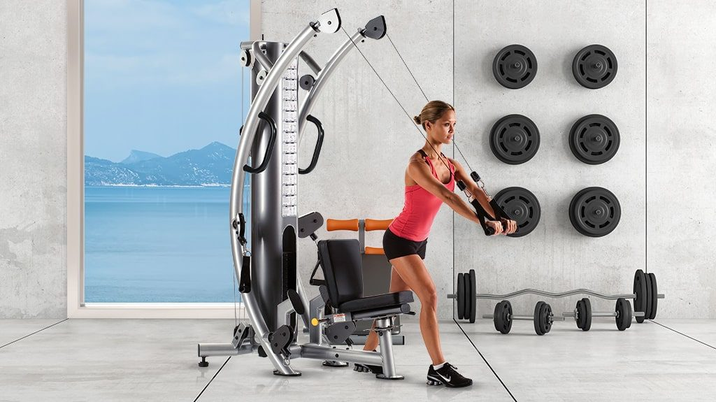 TuffStuff Fitness Six-Pak Functional Trainer