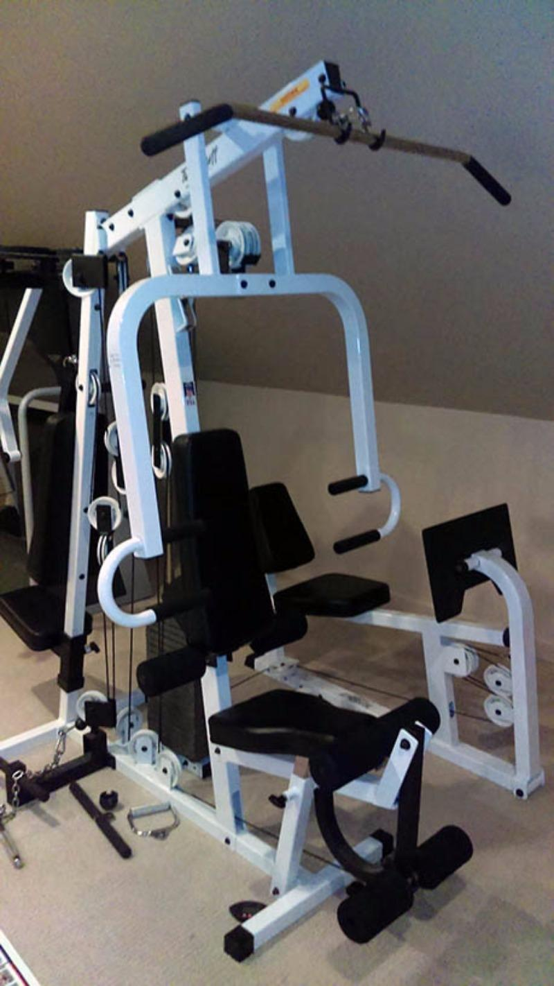 TuffStuff Muscle IV Home Gym | Product Archive | Owner's Manual