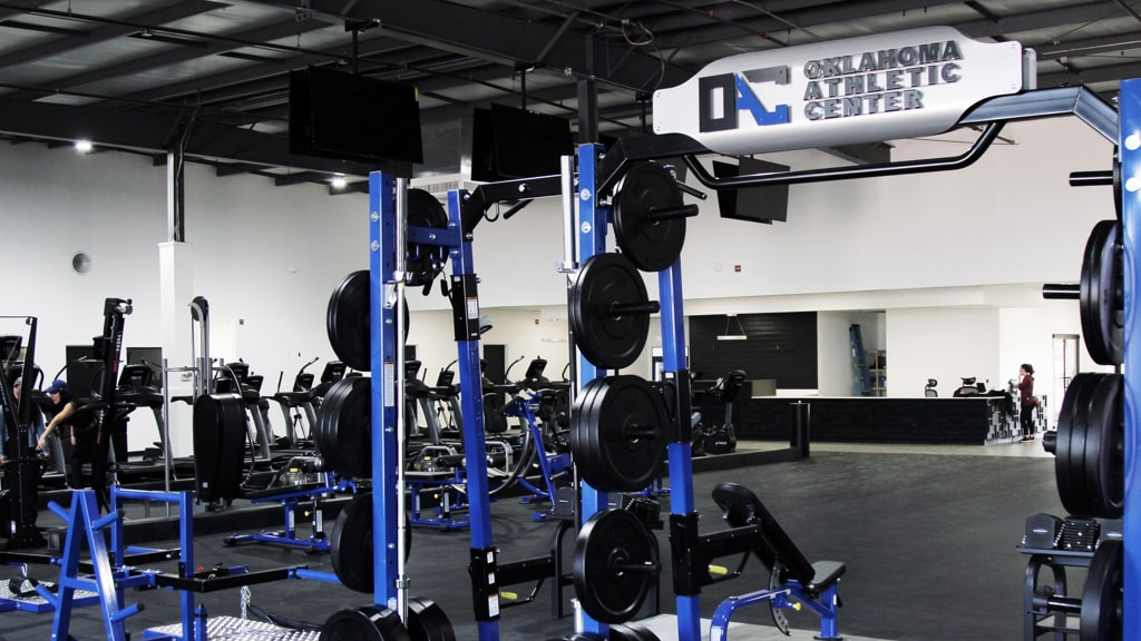 TuffStuff PRO-XL Half Rack for Oklahoma Athletic Center Gym