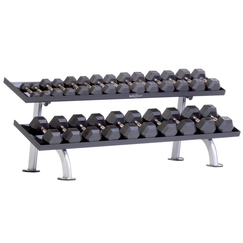 Proformance Plus 2-Tier Tray Dumbbell Rack (PPF-752T)