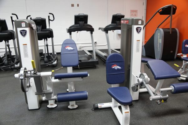 TuffStuff Proformance Plus at Denver Broncos Stadium Room Gym