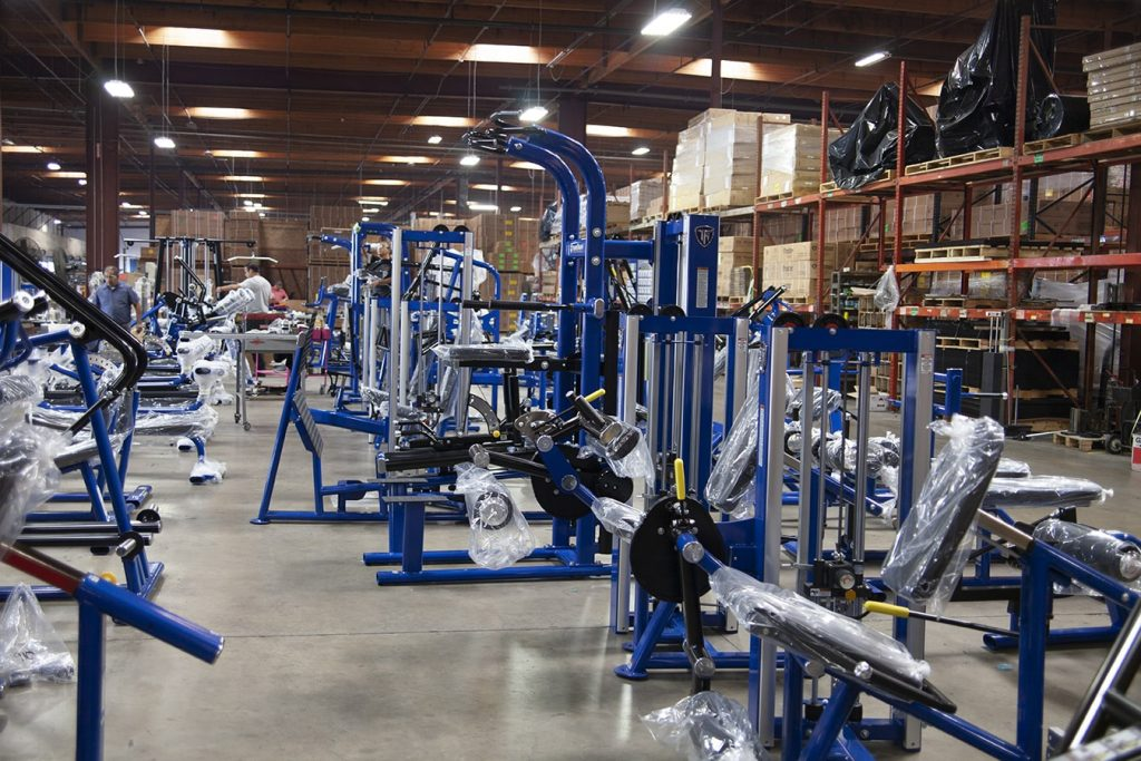 TuffStuff Preparing Commercial Strength Equipment for Oklahoma Athletic Center (OAC)